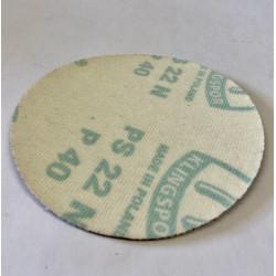 Kotouč s papírovou podložkou na suchý zip 125 mm Z 120