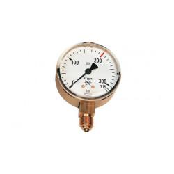 Vstupní manometr O2 ⌀ 63 - kyslík