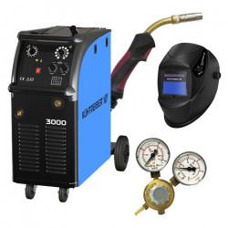 SET Kühtreiber KIT 3000 Svařovací stroj + ventil + hořák KTB25 4 m + maska + 4-kladkový posuv