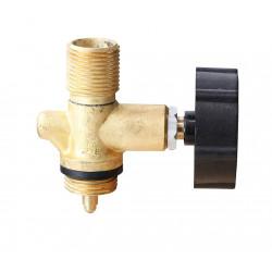 """MEVA PB ventil na 2 kg láhev zavit G3/8"""" L, 2156A"""