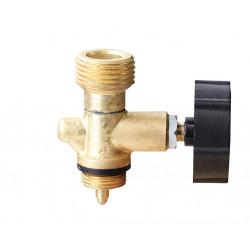 MEVA Plynový ventil, závit W 21,8 na 2 kg láhev, typ: 2156UV
