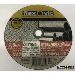Řezný kotouč Flexovit A46S 230x1,9x22,23 ocel/nerez