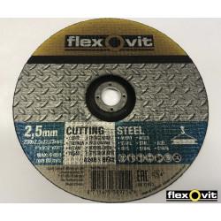 Řezný kotouč Flexovit A24R 230x2,5x22,23 ocel