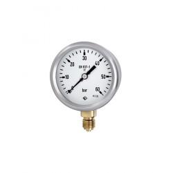 GCE výstupní manometr ⌀ 63 - CO2