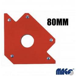 Magnetický úhelník 80mm