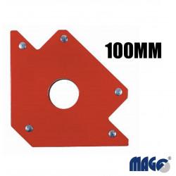 Magnetický úhelník 100mm