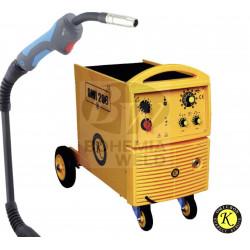 SET OMICRON OMI 206 Svařovací stroj + hořák 15/3 m