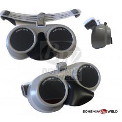 Ochranné svářečské brýle s krytem nosu DIN5