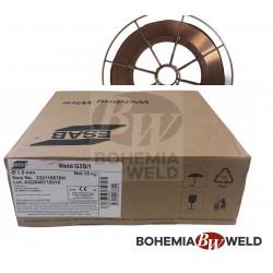 Svářecí drát WELD G3Si1 1,0 mm ocel MIG 15kg