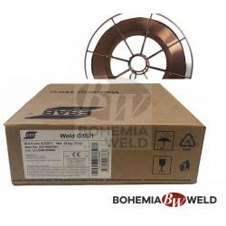 Svářecí drát WELD G3Si1 0,8 mm ocel MIG 15kg