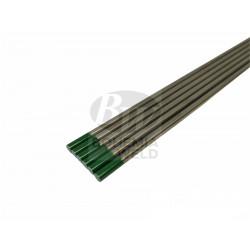 Wolframová elektroda zelená pr. 1,6 mm