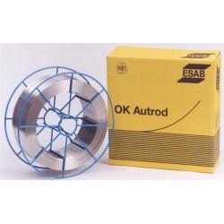 Svářecí drát OK Autrod 12.56 1,0 mm ocel MIG 18kg
