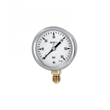 GCE výstupní manometr ⌀ 63 - dusík N