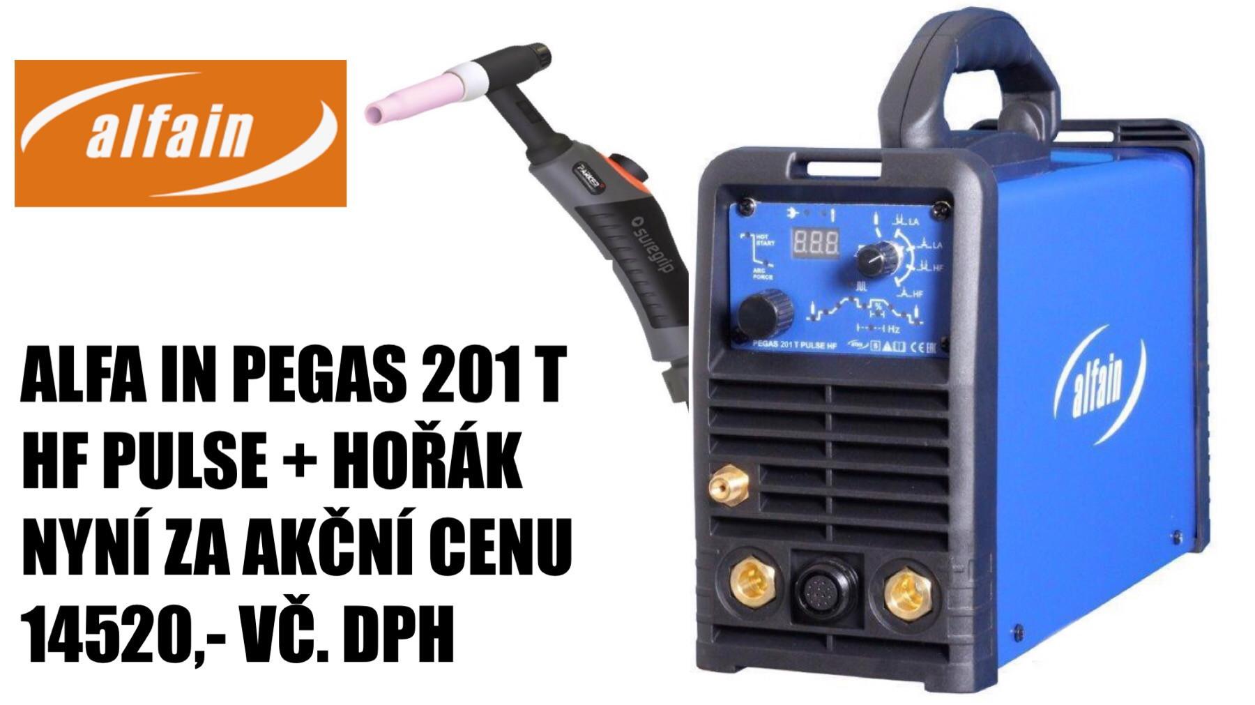 Akční cena Alfa in PEGAS 201 T HF PULSE + hořák